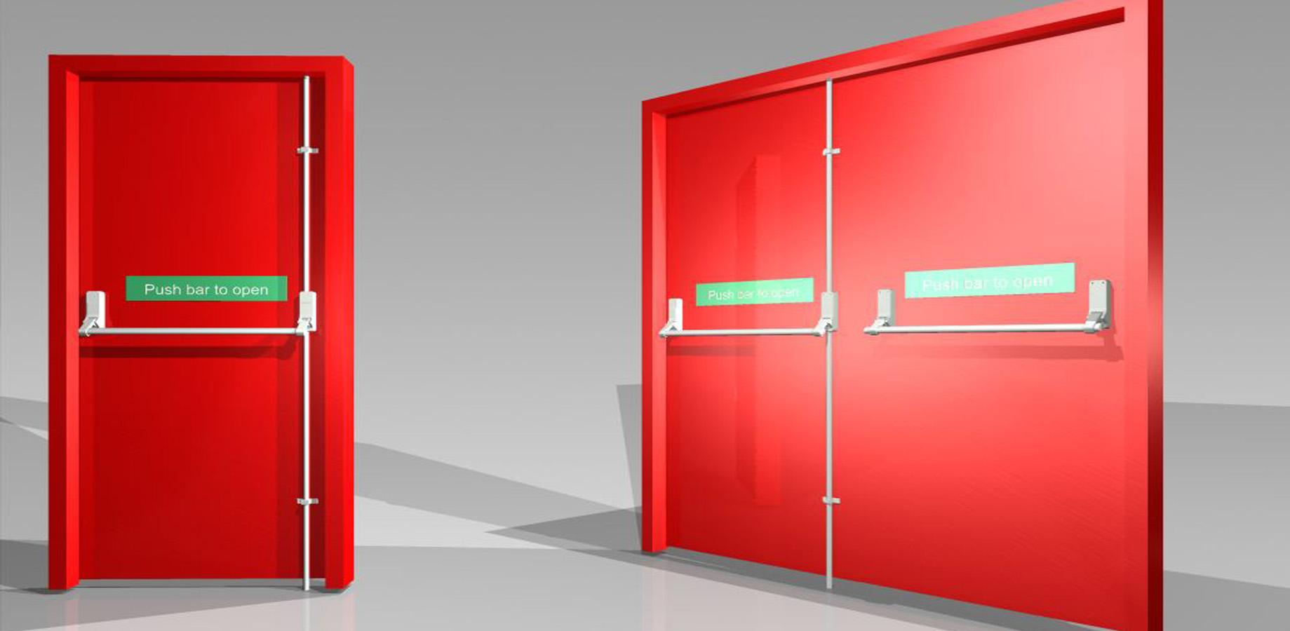 Fire Rated Gates : Fire door rated doors resistant